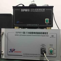 大功率LED光色热电性能综合测试系统